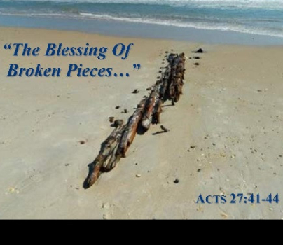 The Blessing Of Broken Pieces