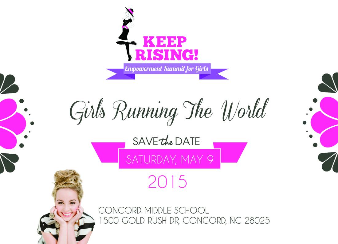 Keep Girls Rising Summit Flyer