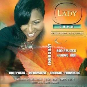 Join Angelia J. Poole on 'The Lady O Show'!