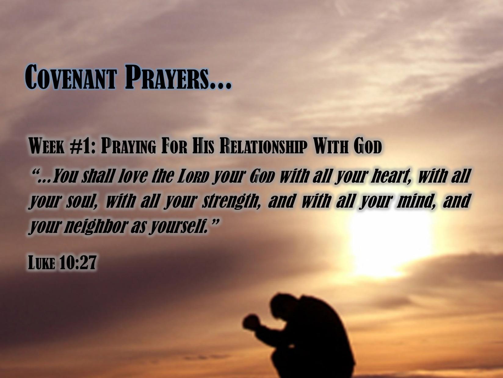 prayer for love relationship